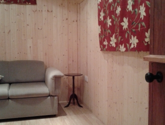Shepherd hut interior (2)